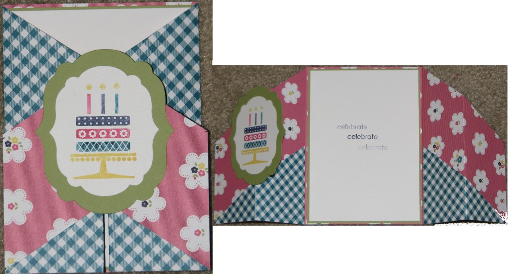 Combined Flip Card