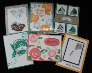 Swirly Bird Stamp Class, www.LaurasStampPad.com