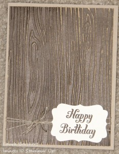 Woodgrain Card