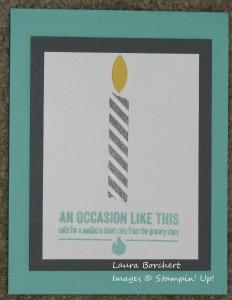 Washi Candle