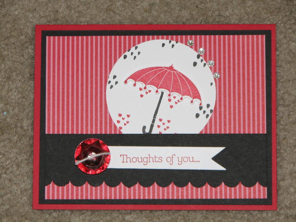Rain or Shine, www.LaurasStampPad.com