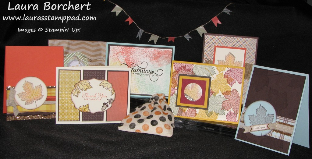 Fabulous Fall Cards, www.LaurasStampPad.com