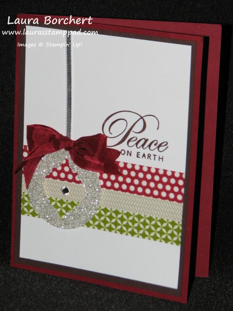 Glimmer Ornament, www.LaurasStampPad.com