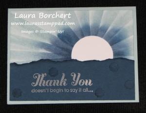 Moon Burst, www.LaurasStampPad.com