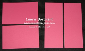 Paper Dimensions, www.LaurasStampPad.com