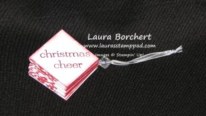Pop Up Ornament, www.LaurasStampPad.com