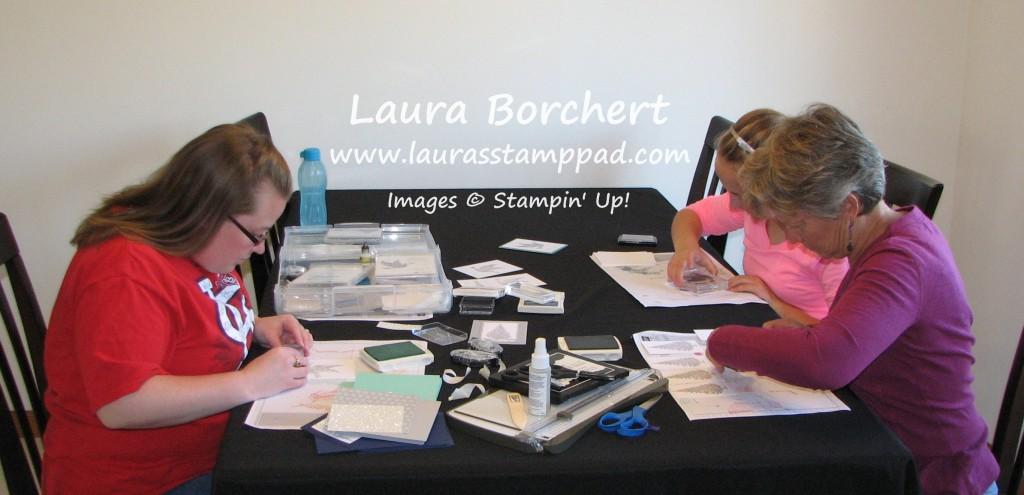 Stamping, www.LaurasStampPad.com