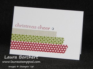 Washi Tape, www. LaurasStampPad.com