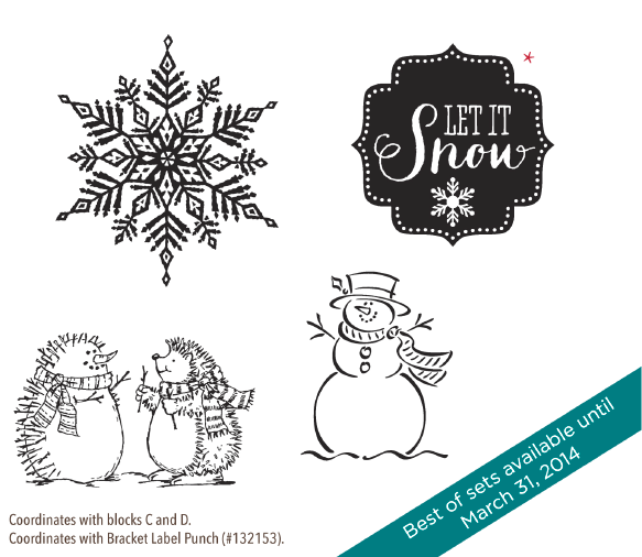 Best of Snow Stamp Set, www.LaurasStampPad.com