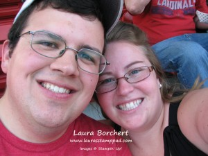 Brad and Laura, www.LaurasStampPad.com