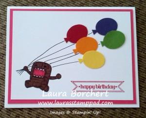 Domo Card, www.LaurasStampPad.com