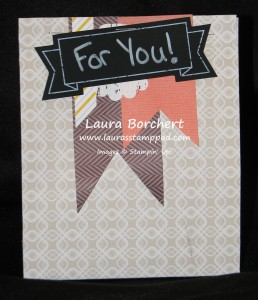 Treat Bag, www.LaurasStampPad.com