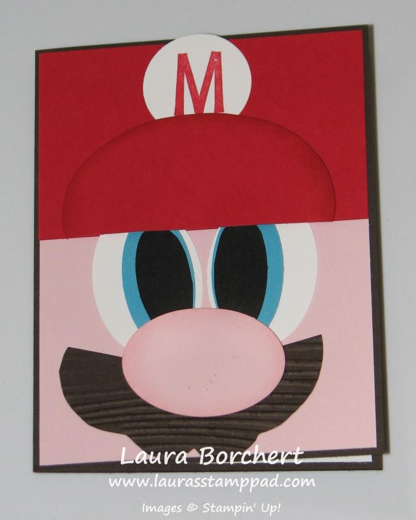 Mario Card, www.LauasStampPad.com