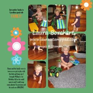 MDS Scrapbook, www.LaurasStampPad.com