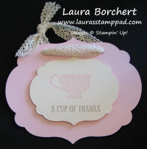 Bridal Shower Tags, www.LaurasStampPad.com