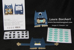Lil Monster Kit, www.LaurasStampPad.com