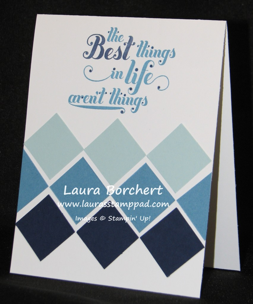 Ombre Card, www.LaurasStampPad.com