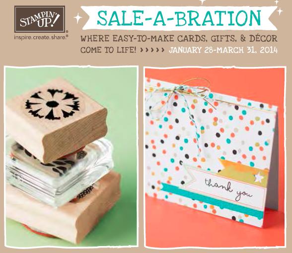 Sale-A-Bration, www.LaurasStampPad.com