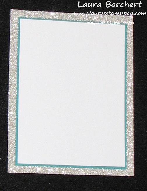 Glimmer Invitation, www.LaurasStampPad.com