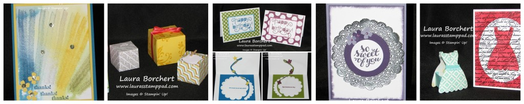 Stamp Club Samples, www.LaurasStampPad.com