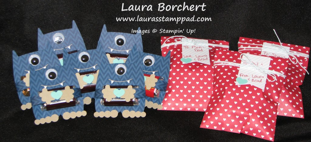 Valentine's Day Treat Bags, www.LaurasStampPad.com