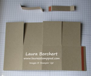 Box Card Template, www.LaurasStampPad.com