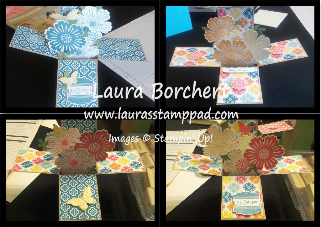 Card In A Box Samples, www.LaurasStampPad.com