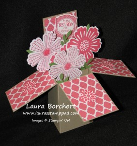 Card in a Box, www.LaurasStampPad.com