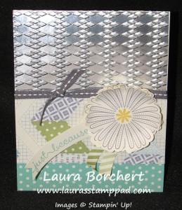 Embossing Foil, www.LaurasStampPad.com