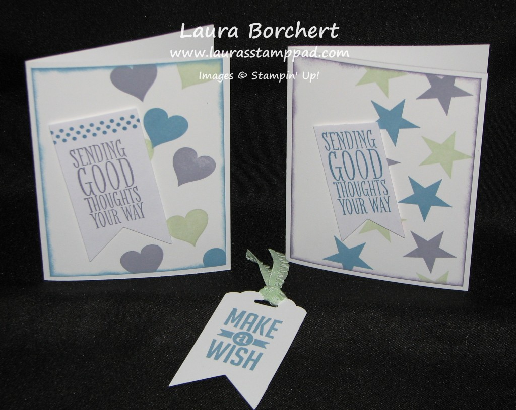 Perfect Pennants, www.LaurasStampPad.com