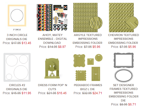 Weekly Deals 3.11.2014, www.LaurasStampPad.com