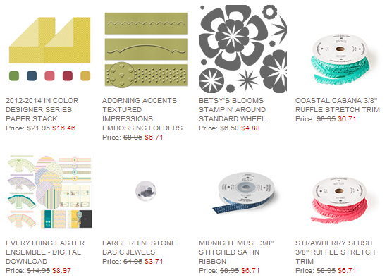 Weekly Deals 3.4.14, www.LaurasStampPad.com