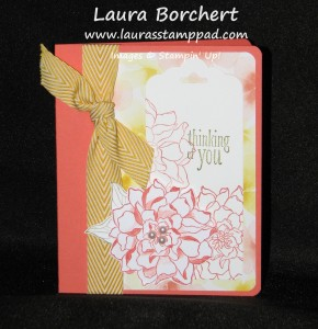 Flower Tag Topper Punch, www.LaurasStampPad.com
