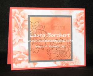 Peaceful Petals Watercolor Wonder DSP, www.LaurasStampPad.com