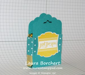 Tag Topper Treat Box, www.LaurasStampPad.com