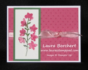 Watercolor with Spritzers, www.LaurasStampPad.com