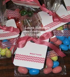 Washi Tape Treat Bags, www.LaurasStampPad.com