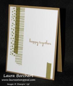 Washi Tape Card, www.LauasStampPad.com