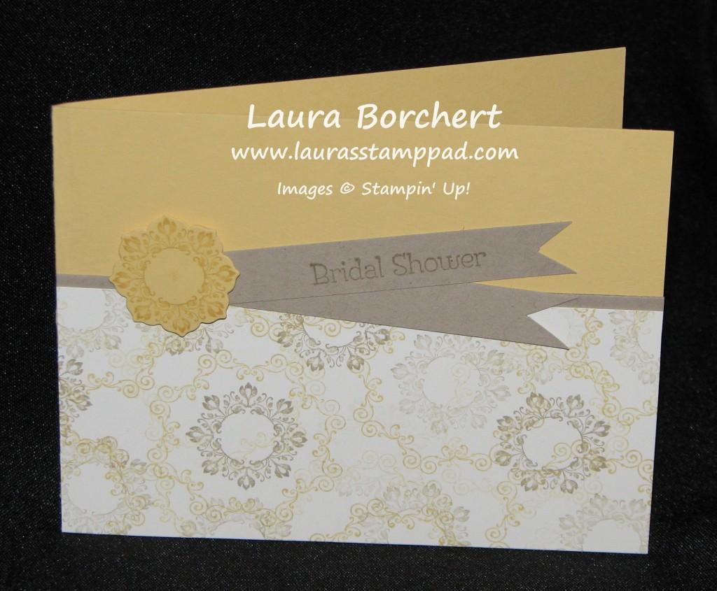 Bridal Shower, Rustic, Elegant, www.LaurasStampPad.com