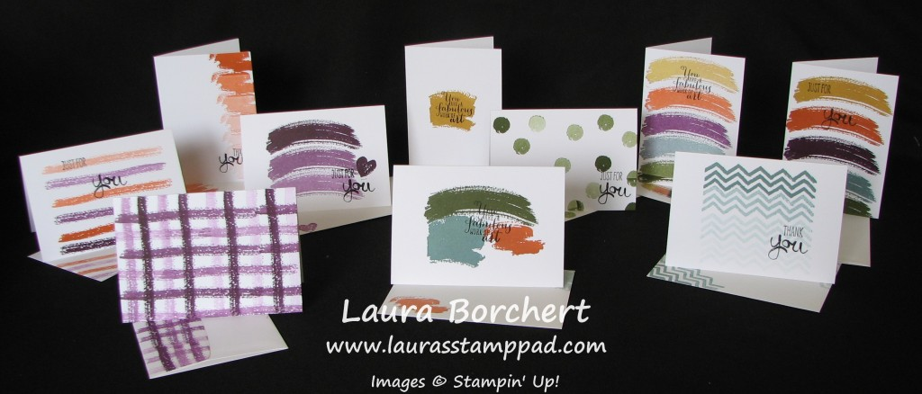 Work of Art Notecards, www.LaurasStampPad.com