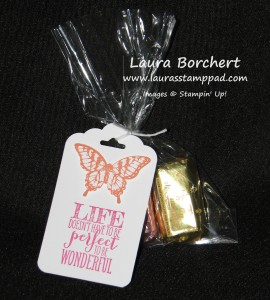 Tag Topper Treat Bag, www.LaurasStampPad.com