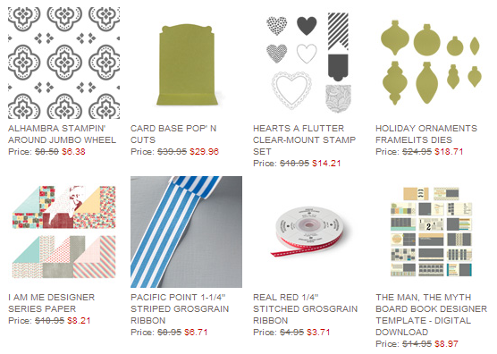 Weekly Deals 5.8, www.LaurasStampPad.com