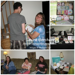 New Catalog Party, www.LaurasStampPad.com