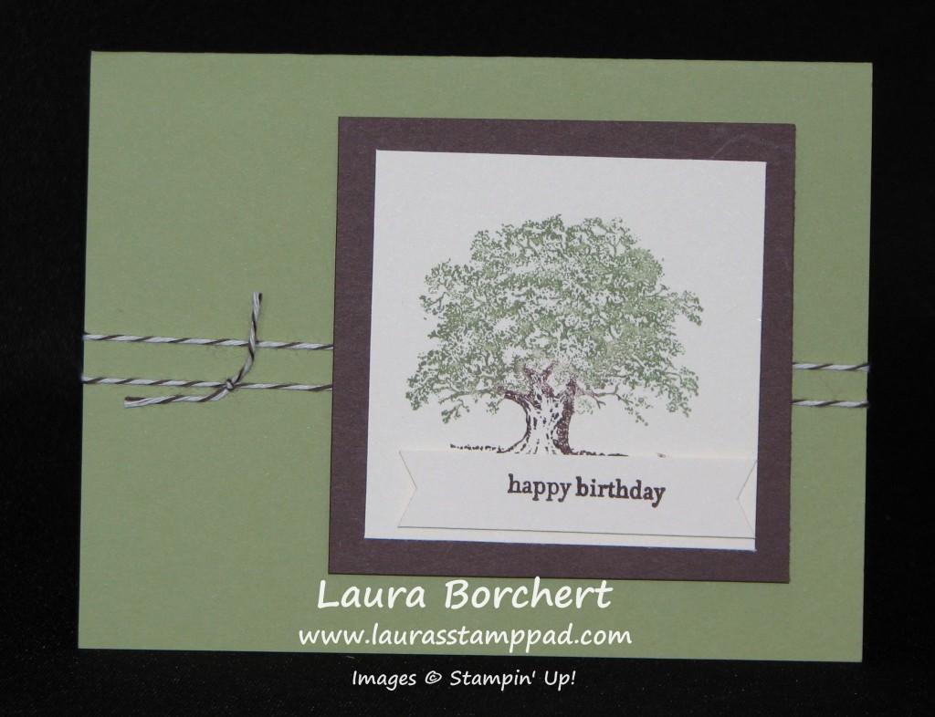 Lovely As A Tree, www.LaurasStampPad.com