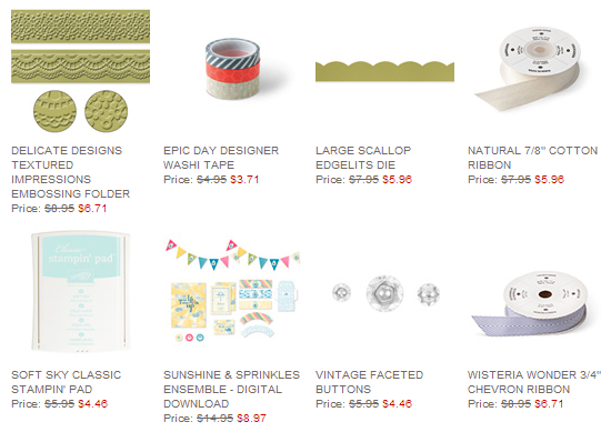 Weekly Deals 6.19, www.LaurasStampPad.com