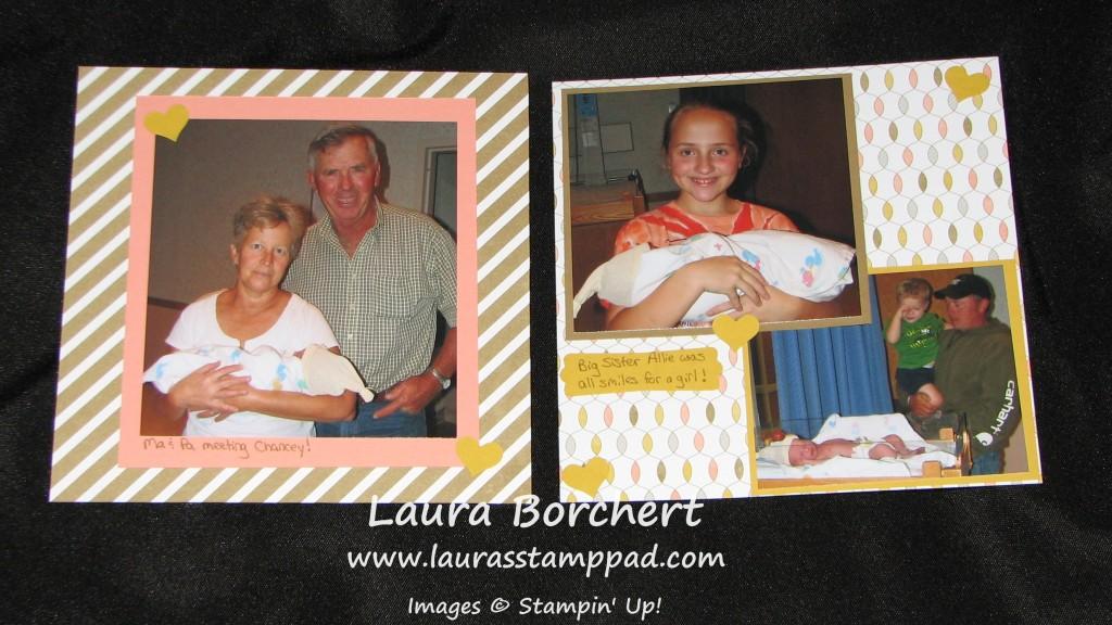 Lullaby Scrapbook, www.LaurasStampPad.com