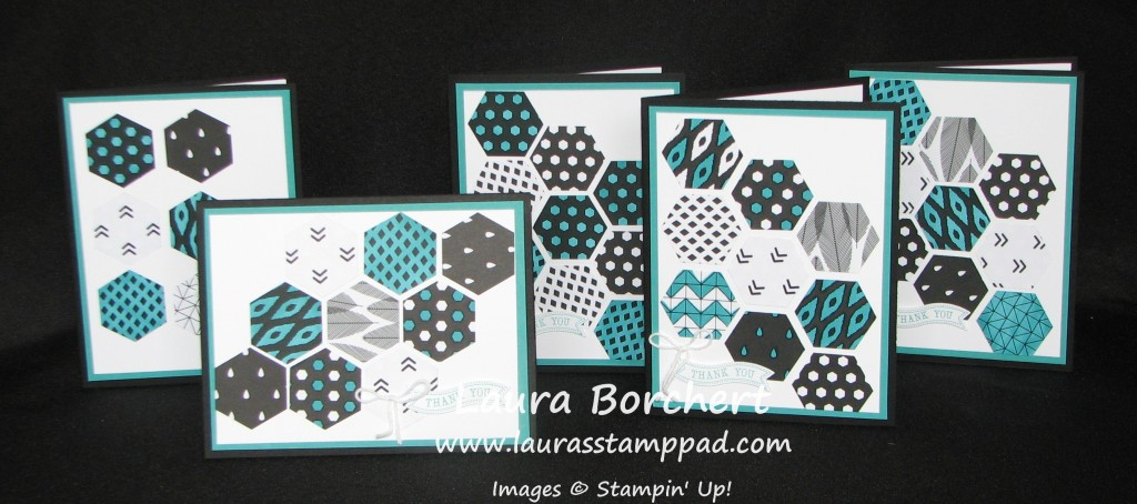Colored Designer Series Paper, www.LaurasStampPad.com