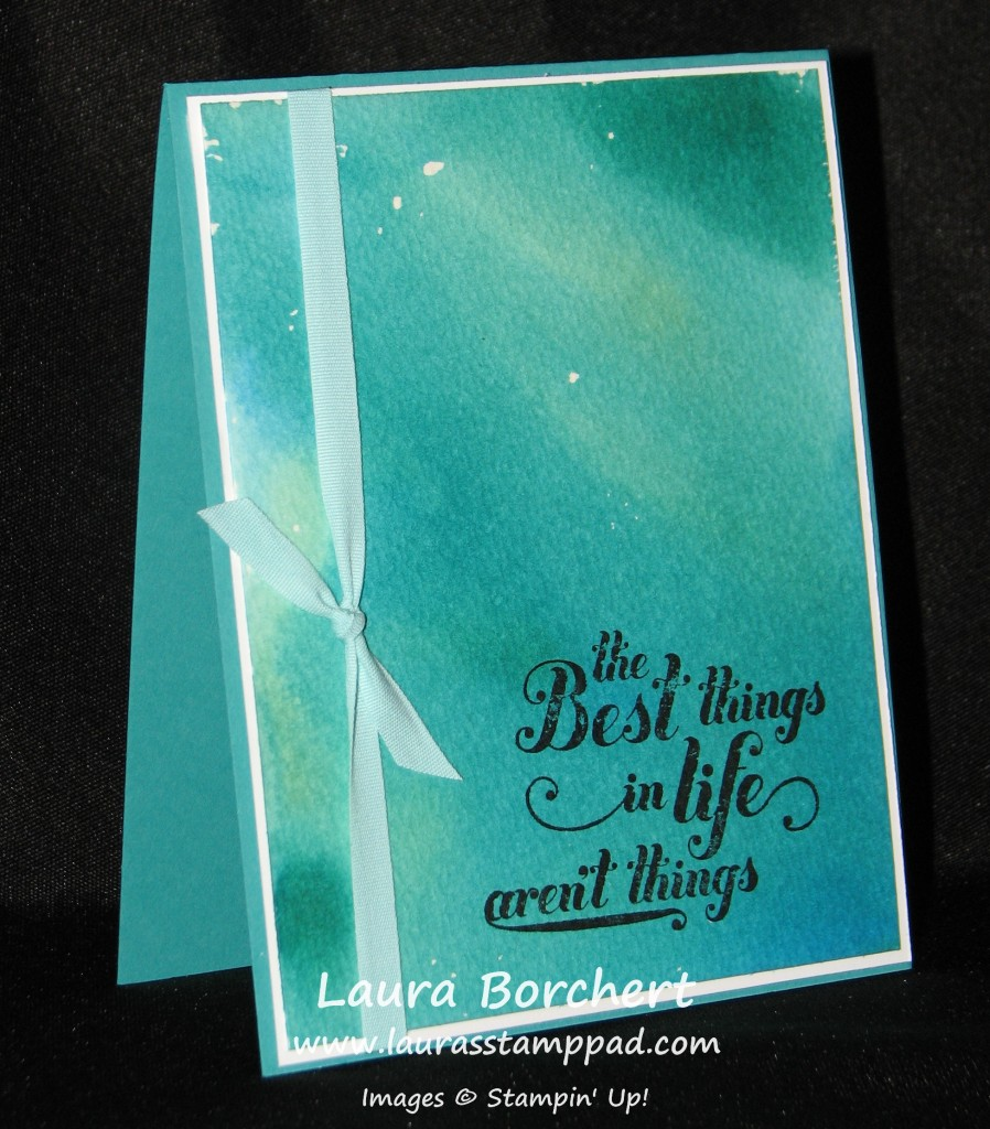 Ink Dropper Card, www.LaurasStampPad.com
