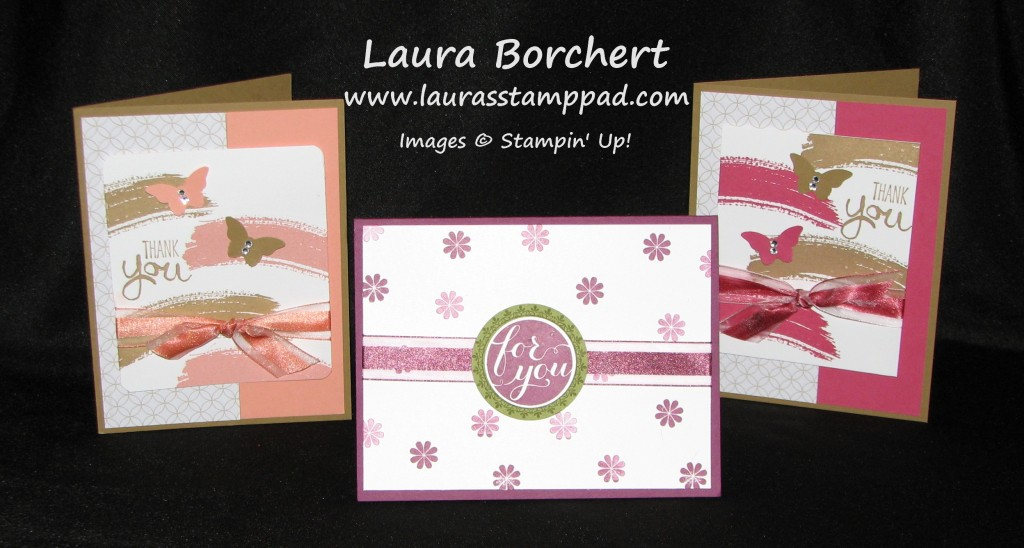 Ribbon Coloring, www.LaurasStampPad.com