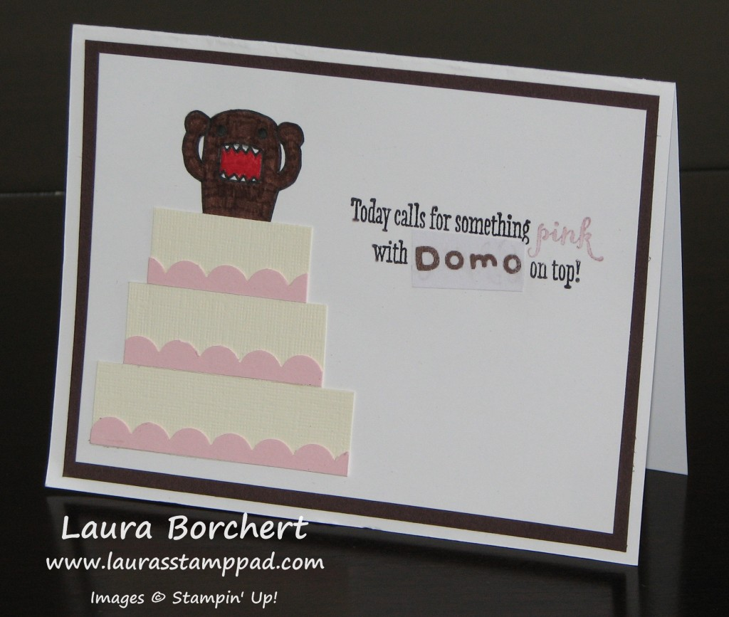 Domo Birthday Card, www.LaurasStampPad.com